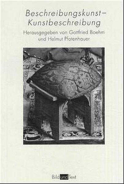 Beschreibungskunst - Kunstbeschreibung als Buch