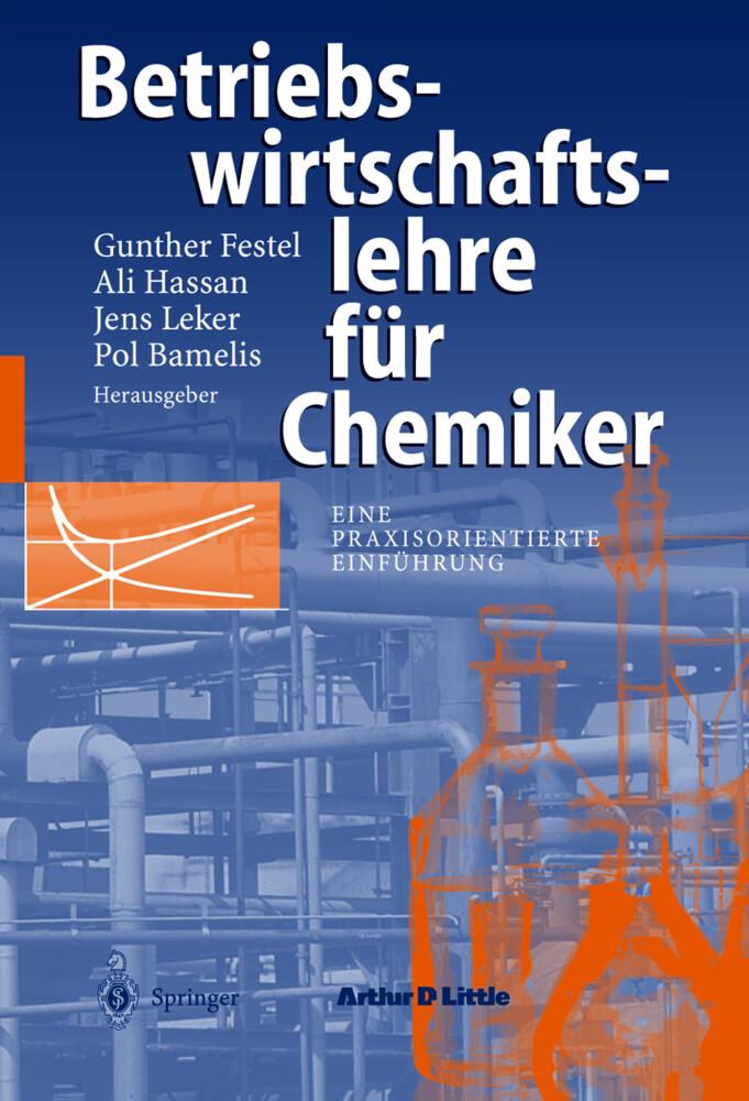 Betriebswirtschaftslehre für Chemiker als Buch