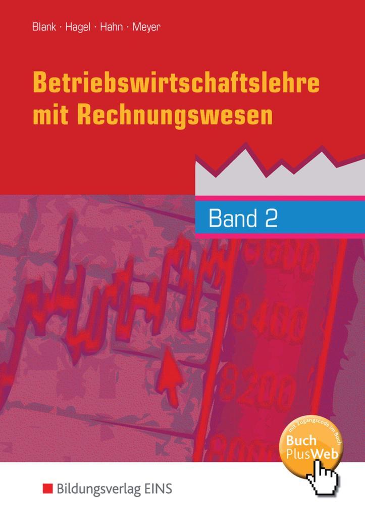 Betriebswirtschaftslehre mit Rechnungswesen 2 als Buch