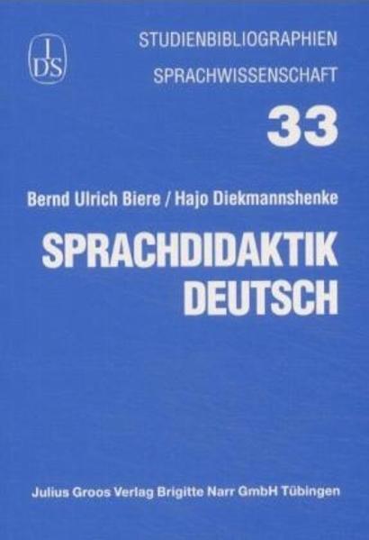 Sprachdidaktik Deutsch als Buch