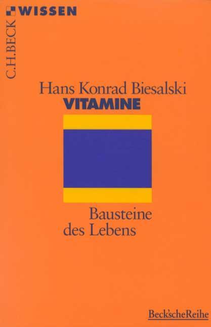 Vitamine als Taschenbuch