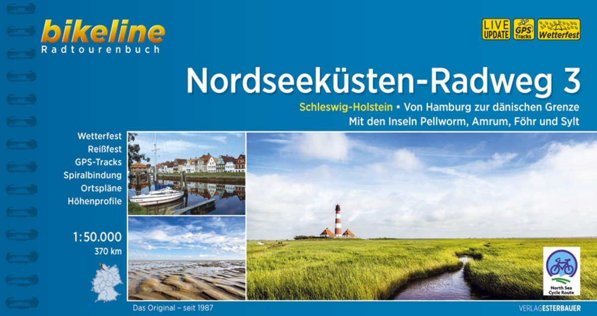 Bikeline Radtourenbuch Nordseeküsten-Radweg 3 als Buch