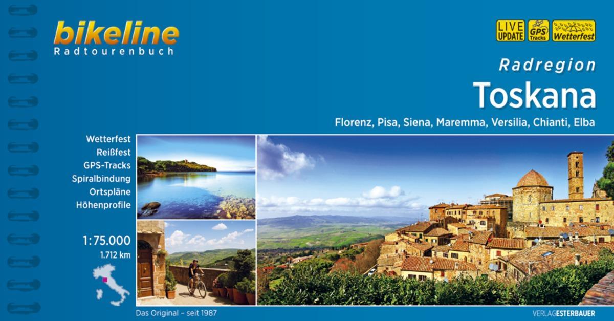 Bikeline Radregion Toscana als Buch (kartoniert)