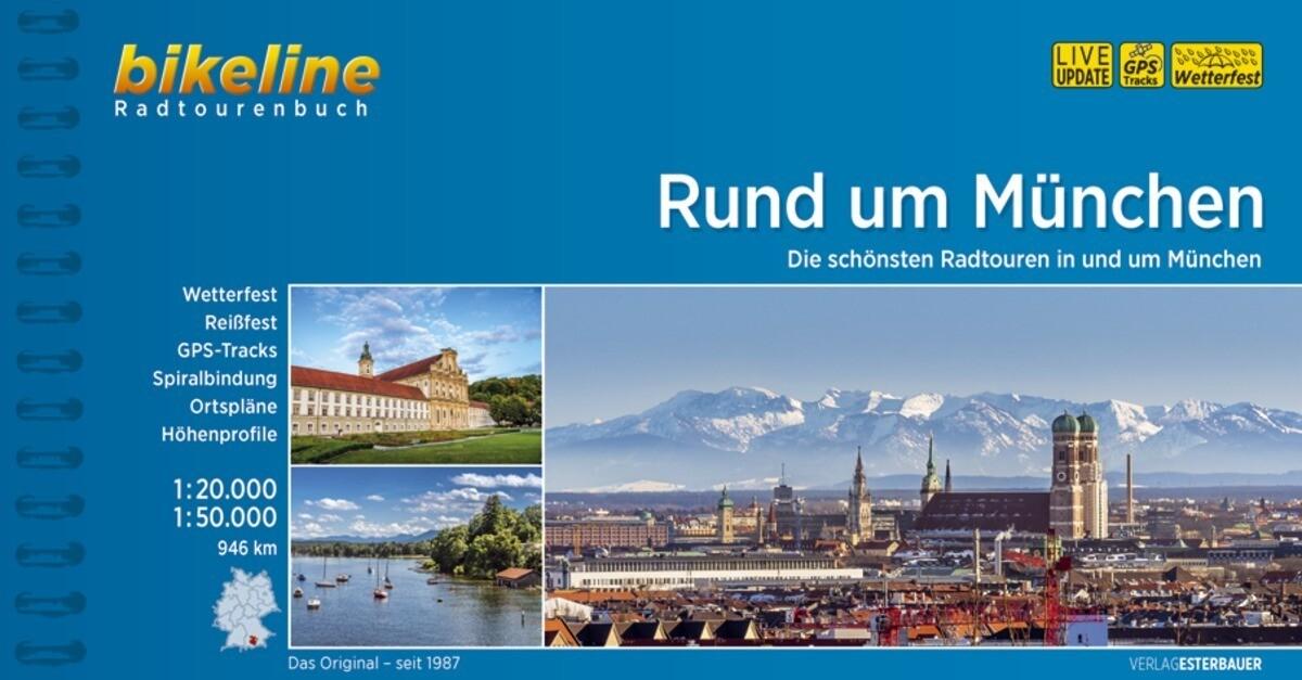 Bikeline Radatlas München 1 : 50 000 als Buch