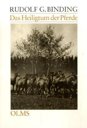 Das Heiligtum der Pferde als Buch