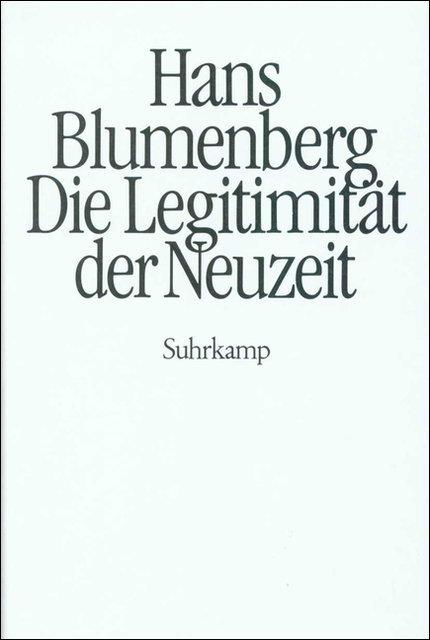 Die Legitimität der Neuzeit als Buch