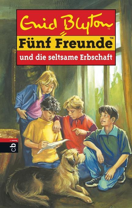 Fünf Freunde 33. Fünf Freunde und die seltsame Erbschaft als Buch