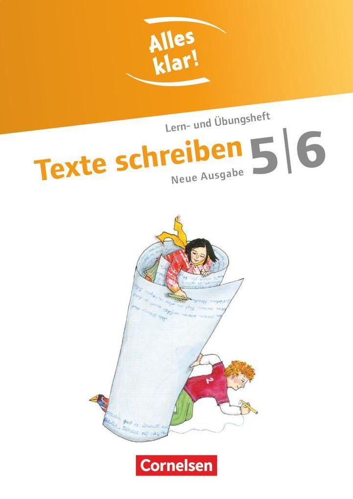 Alles klar! Deutsch. Sekundarstufe I 5./6. Schuljahr. Texte schreiben als Buch