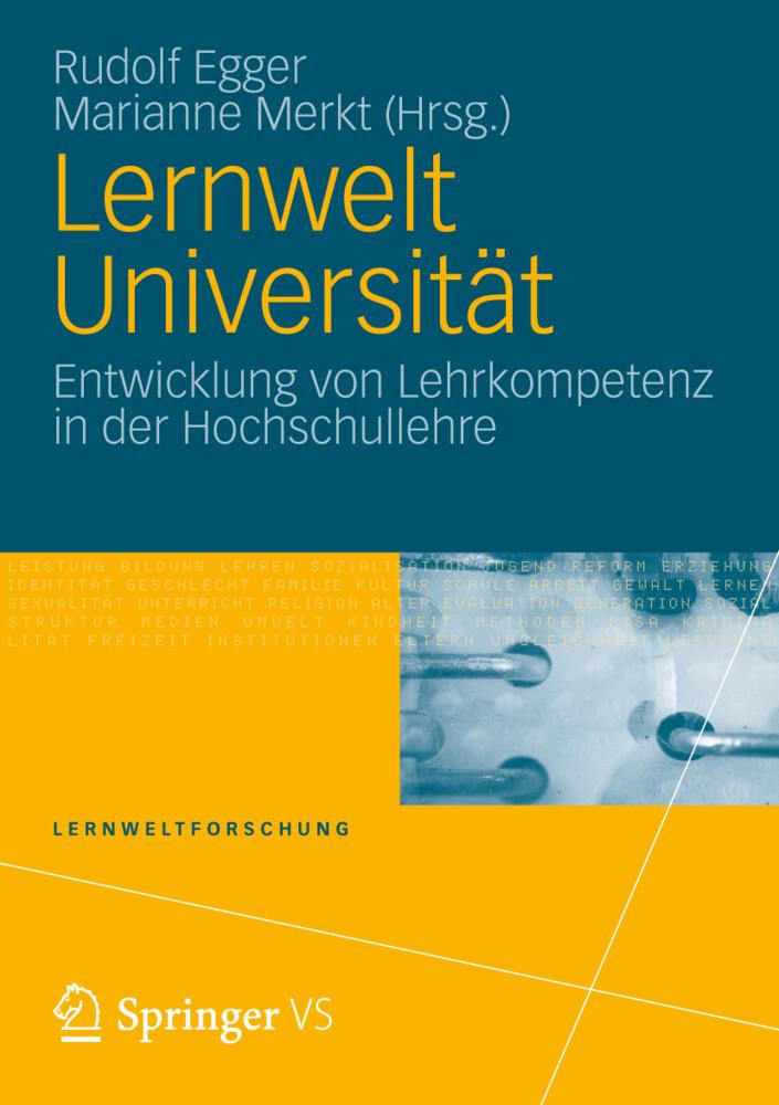 Lernwelt Universität als Buch (gebunden)