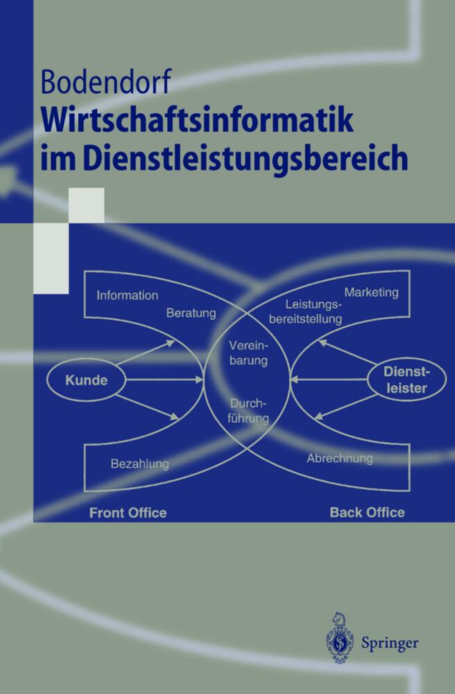 Wirtschaftsinformatik im Dienstleistungsbereich als Buch