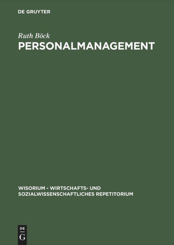 Personalmanagement als Buch