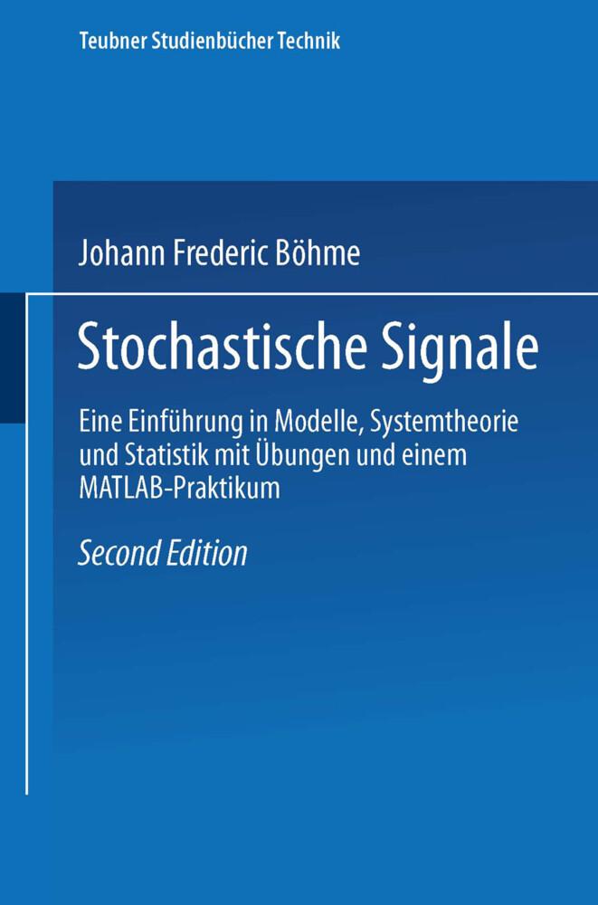 Stochastische Signale als Buch