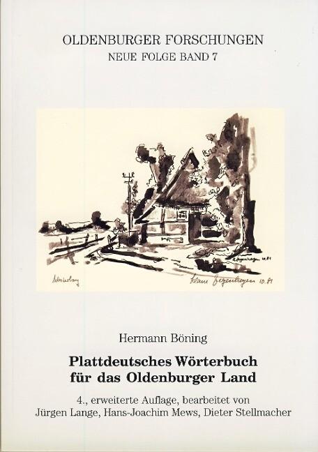 Plattdeutsches Wörterbuch für das Oldenburger Land als Buch