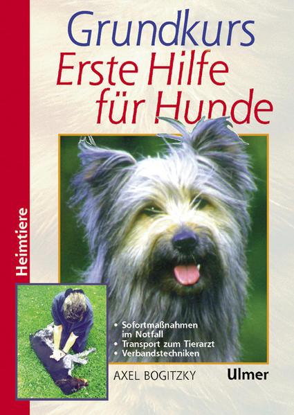 Grundkurs Erste Hilfe für den Hund als Buch