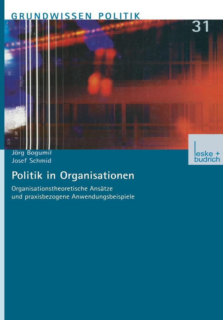 Politik in Organisationen als Buch