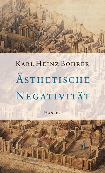 Ästhetische Negativität als Buch
