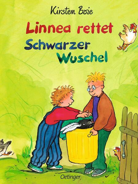 Oetinger - Linnea rettet Schwarzer Wuschel als Buch