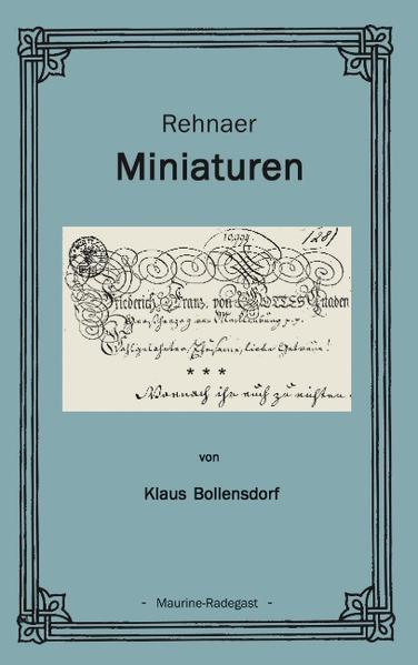 Rehnaer Miniaturen als Buch