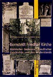 Bornstedt, Friedhof, Kirche als Buch