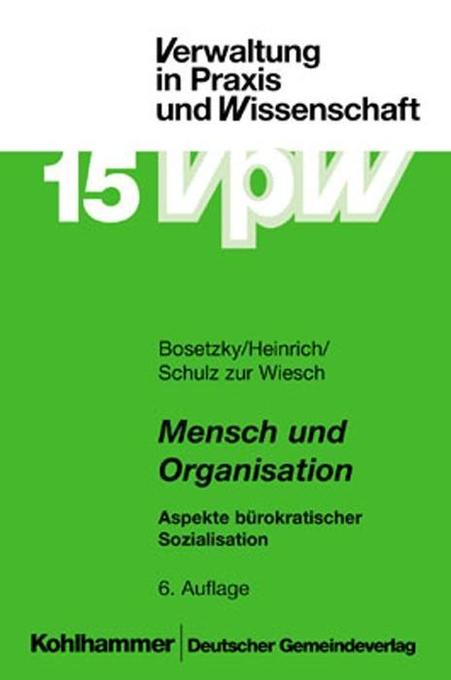 Mensch und Organisation als Buch
