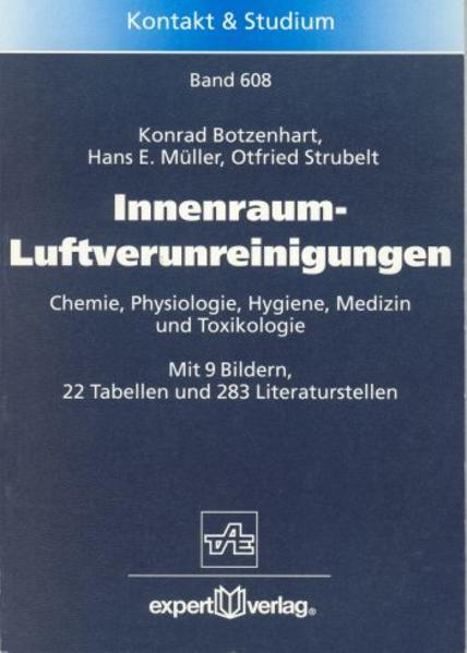 Innenraum-Luftverunreinigungen als Buch