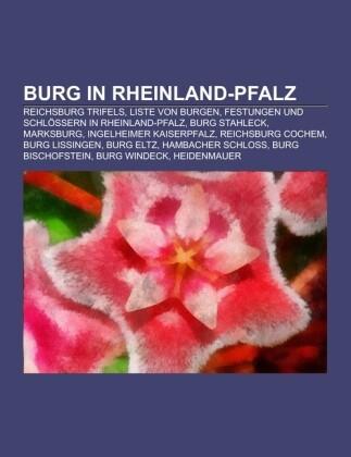 Burg in Rheinland-Pfalz als Taschenbuch von