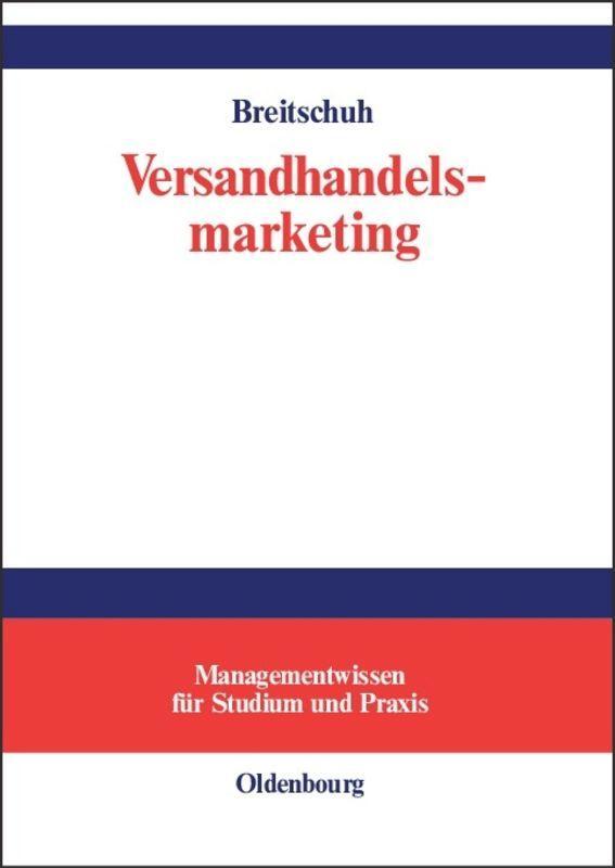Versandhandelsmarketing als Buch
