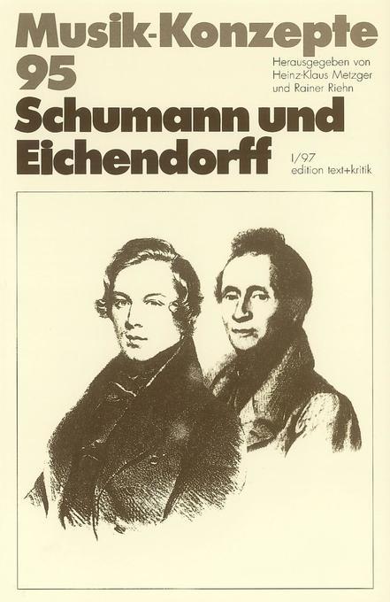Schumann und Eichendorff als Buch