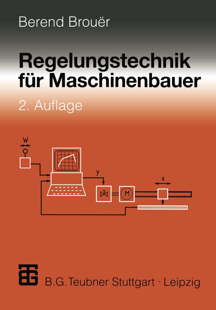 Regelungstechnik für Maschinenbauer als Buch