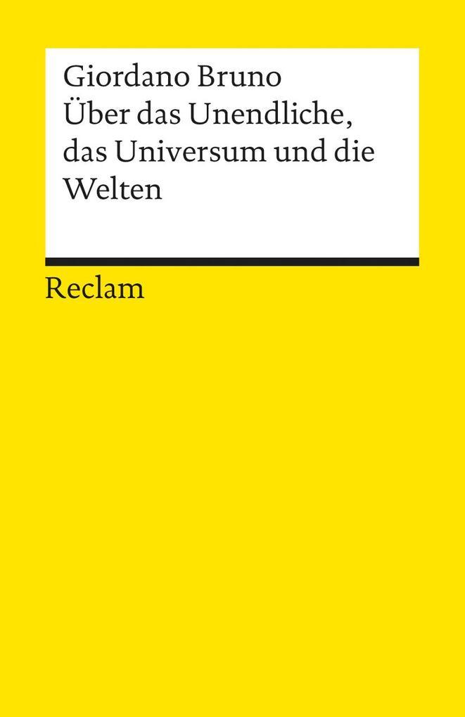 Über das Unendliche, das Universum und die Welten als Taschenbuch