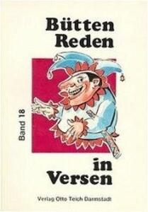 Büttenreden in Versen 18 als Buch