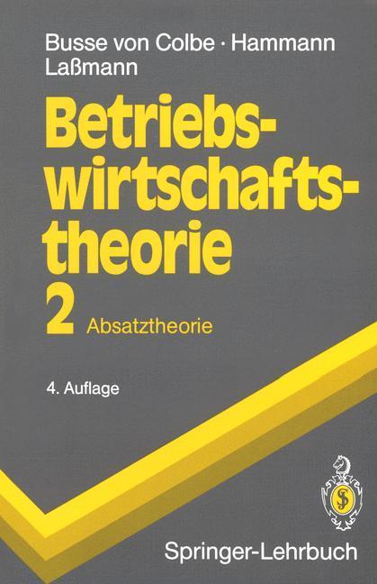 Betriebswirtschaftstheorie als Buch