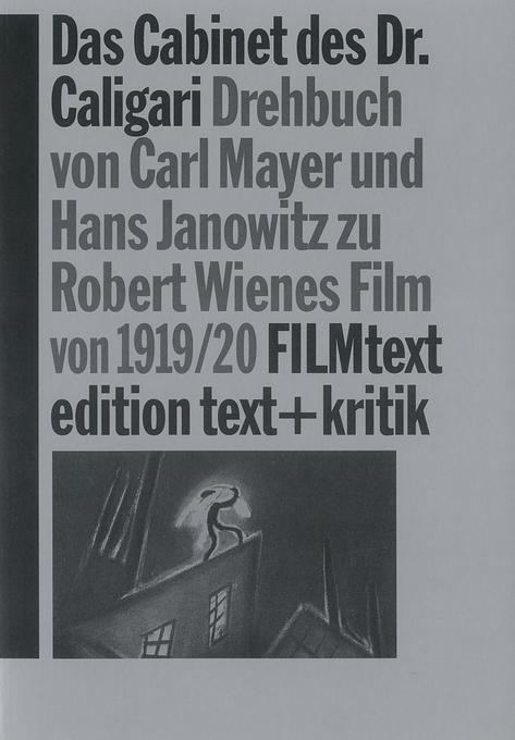 Das Cabinet des Dr. Caligari als Buch