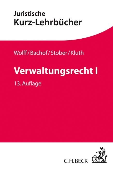 Verwaltungsrecht Bd. 1 als Buch (kartoniert)
