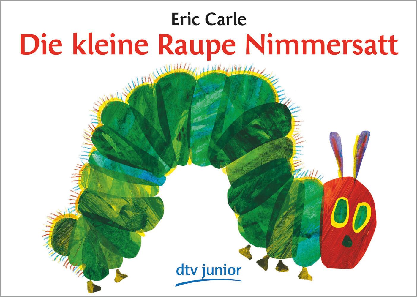 Die kleine Raupe Nimmersatt als Taschenbuch