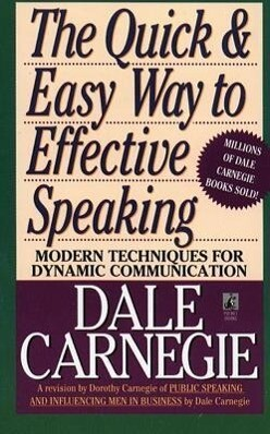 The Quick and Easy Way to Effective Speaking als Taschenbuch