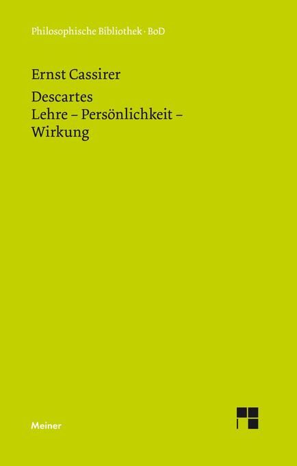 René Descartes als Buch
