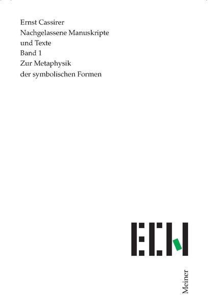 Zur Metaphysik der symbolischen Formen als Buch