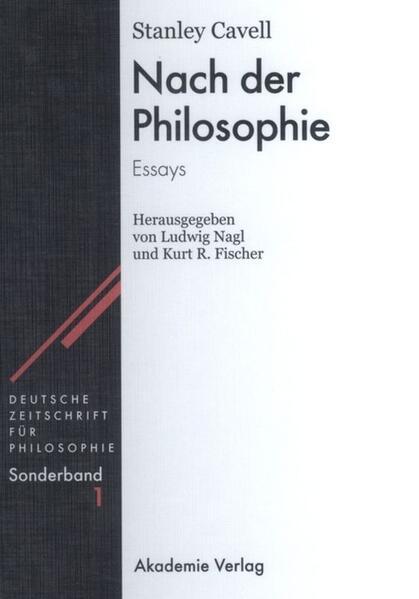 Nach der Philosophie als Buch