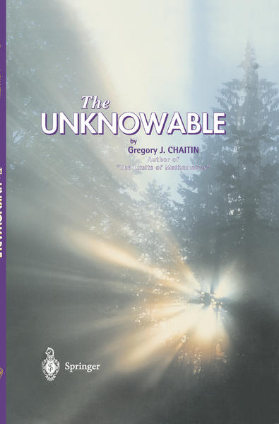The Unknowable als Buch