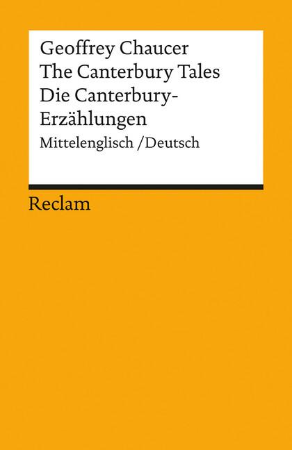 Die Canterbury - Erzählungen als Taschenbuch