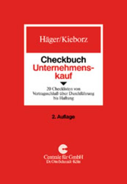 Checkbuch Unternehmenskauf als Buch