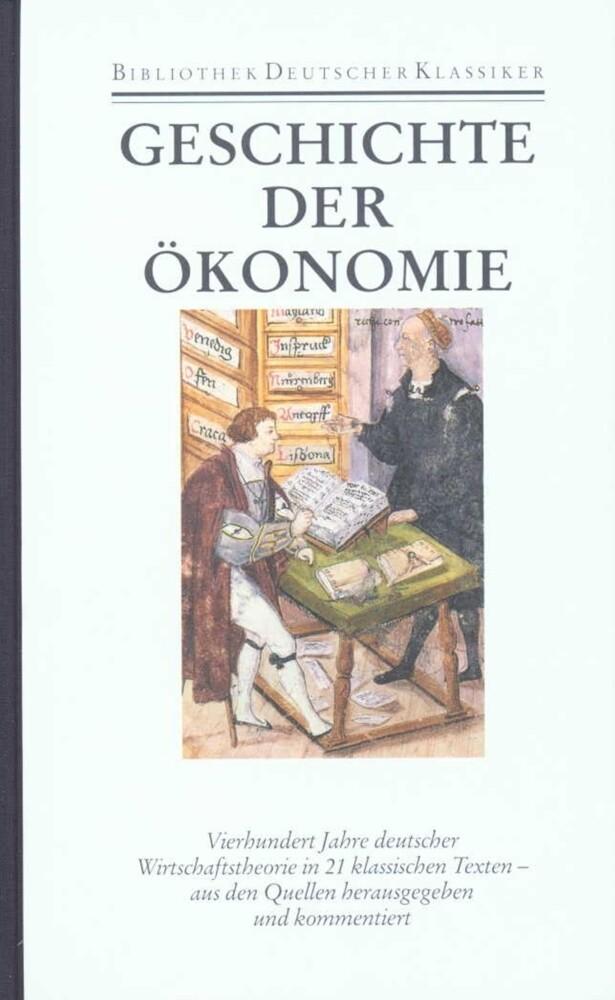 Geschichte der Ökonomie als Buch