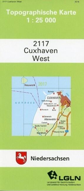 Cuxhaven West 1 : 25 000 als Buch
