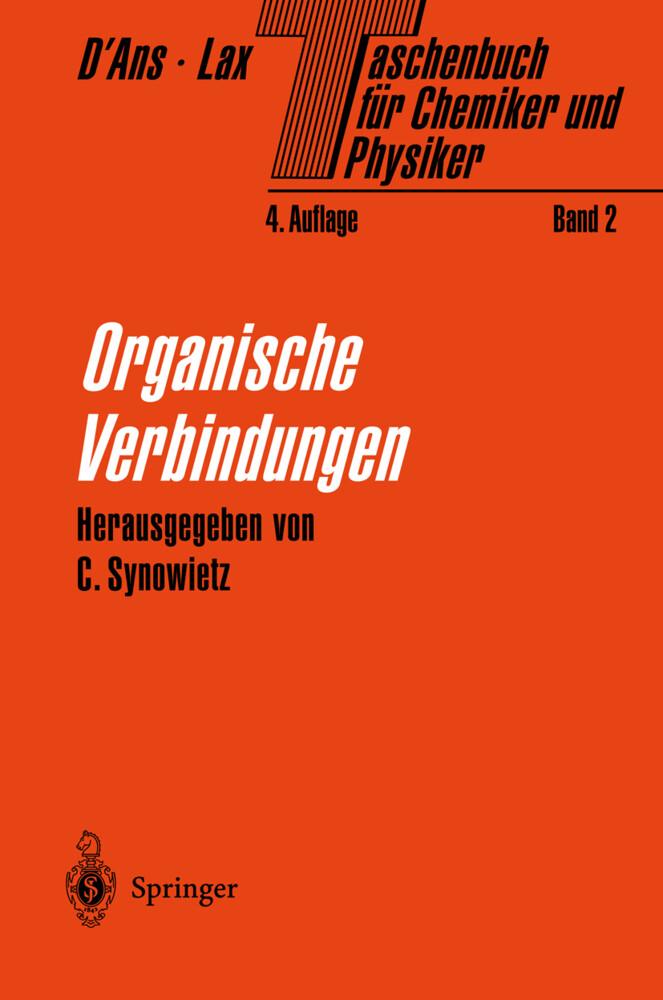 Organische Verbindungen als Buch
