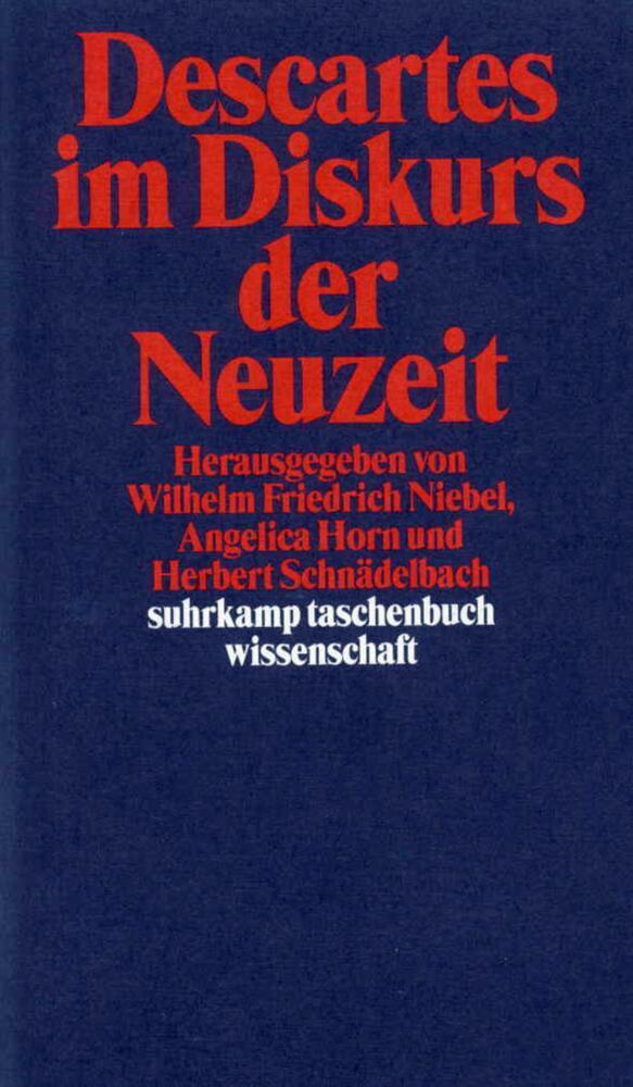 Descartes im Diskurs der Neuzeit als Taschenbuch