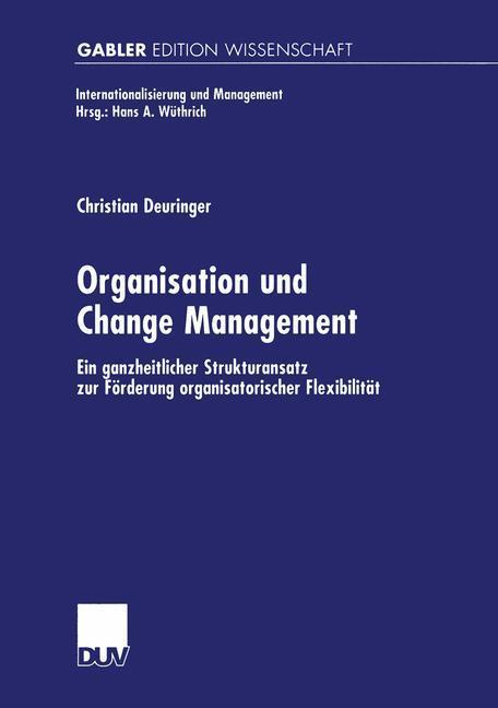 Organisation und Change Management als Buch