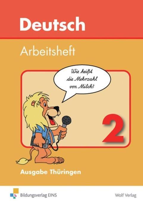 Deutsch 2. Arbeitsheft. Thüringen als Buch