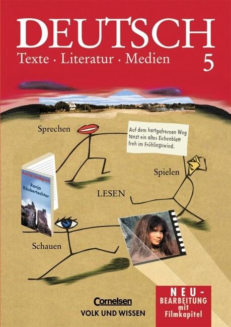 Deutsch 5. Texte, Literatur, Medien als Buch