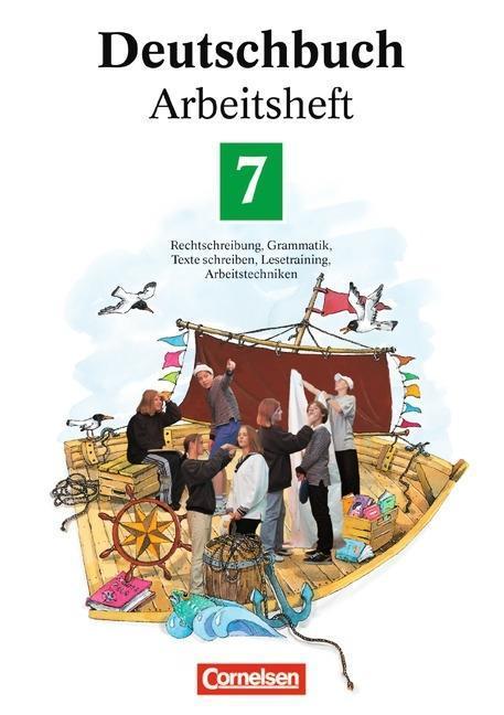 Deutschbuch 7. Neue Rechtschreibung. Arbeitsheft als Buch